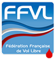 Logo FFVL (parapente, delta, kite, cerf-volant)